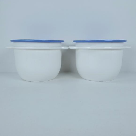 New Vintage Tupperware One Touch Bowls 2513A